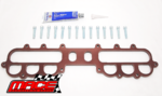 MACE PERFORMANCE 12MM UPPER MANIFOLD INSULATOR KIT FOR FORD FALCON AU.II AU.III INTECH E-GAS 4.0L I6