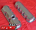MACE POLISHED ALUMINIUM ROCKER COVER SET TO SUIT HOLDEN ECOTEC L36 L67 SUPERCHARGED 3.8L V6