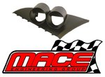 MACE PERFORMANCE TWIN GAUGE POD FOR FORD FALCON BA BF XR6 BARRA 182 190 240T 245T DOHC TURBO 4.0L I6