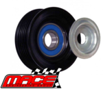 HOLDEN COMMODORE POWERBOND IDLER PULLEY RIBBED (STEEL) VS V6 6/96-8/97 - VY ECOTEC & L36 L67
