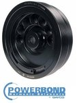 POWERBOND RACE 5% OVERDRIVE HARMONIC BALANCER TO SUIT HOLDEN ECOTEC L36 L67 SUPERCHARGED 3.8L V6