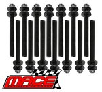 MACE HEAD BOLT SET TO SUIT FORD FALCON BA BF FG FG X BARRA 182 190 195 E-GAS ECOLPI 4.0L I6