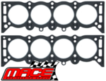 MACE CYLINDER HEAD GASKET SET TO SUIT HOLDEN KINGSWOOD HT HG HQ HJ HX HZ WB 253 308 4.2L 5.0L V8
