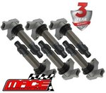 SET OF 6 MACE IGNITION COILS FOR HOLDEN COMMODORE VZ ALLOYTEC LY7 LE0 3.6L V6 (AUG-06 ON)