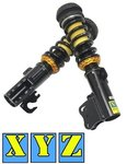 XYZ RACING SUPER SPORT FRONT COILOVER KIT TO SUIT HOLDEN VF WN SEDAN WAGON UTE