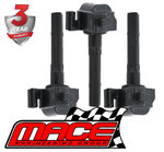 SET OF 3 MACE STANDARD REPLACEMENT IGNITION COILS TO SUIT TOYOTA VIENTA MCV20R 1MZFE 3.0L V6