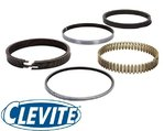 CLEVITE CHROME PISTON RING SET TO SUIT HOLDEN COMMODORE VK VL VN VG VP VR VS VT 304 5.0L V8