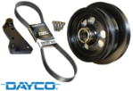 POWERBOND OVERDRIVE POWER PULLEY KIT TO SUIT HSV GTS GEN-F LSA SUPERCHARGED 6.2L V8​