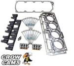 CROW CAMS AFM DOD DELETE KIT WITH VALLEY COVER TO SUIT HOLDEN L76 L77 6.0L V8