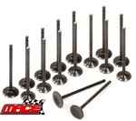 SET OF 16 MACE INTAKE AND EXHAUST VALVES FOR NISSAN NAVARA D22 D40 YD25DDT YD25DDTI TURBO 2.5L I4