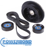 POWERBOND PERFORMANCE 20% UNDERDRIVE PULLEY KIT TO SUIT HOLDEN ALLOYTEC SIDI LY7 LE0 LW2 LLT 3.6L V6