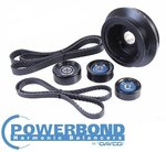 POWERBOND 25% UNDERDRIVE POWER PULLEY KIT FOR HSV MALOO R8 VE.I LS2 LS3 6.0L 6.2L V8