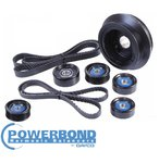POWERBOND 25% UNDERDRIVE POWER PULLEY KIT TO SUIT HSV GRANGE WN LS3 6.2L V8