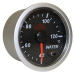 SAAS BLACK STREET SERIES WATER TEMPERATURE 40-120 DEGREE 52MM GAUGE