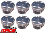 SET OF MACE PISTONS TO SUIT HOLDEN CAPTIVA CG ALLOYTEC LU1 3.2L V6