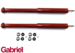 PAIR OF GABRIEL GUARDIAN REAR GAS SHOCK ABSORBERS TO SUIT HOLDEN VP-VZ VQ-WL V2 SEDAN COUPE
