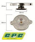 CPC RADIATOR CAP TO SUIT FORD LTD DC DF DL AU SOHC VCT MPFI 3.9L 4.0L I6
