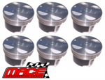 SET OF 6 MACE PISTONS TO SUIT HOLDEN ALLOYTEC LY7 LE0 LW2 LWR 3.6L V6