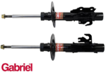 GABRIEL FRONT ULTRA GAS STRUT SET TO SUIT HOLDEN VF SEDAN WAGON UTE