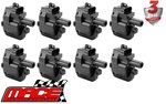SET OF 8 MACE STANDARD REPLACEMENT IGNITION COILS TO SUIT HSV SV300 VX LS1 5.7L V8