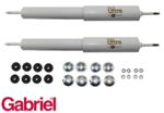 2 X GABRIEL REAR ULTRA GAS HD SHOCK ABSORBER TO SUIT FORD FAIRMONT XR-XF EA-EL SEDAN WAGON HARDTOP