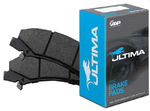 ULTIMA REAR BRAKE PAD SET TO SUIT FORD BARRA 182 190 195 E-GAS ECOLPI 240T 245T 270T TURBO 4.0L I6