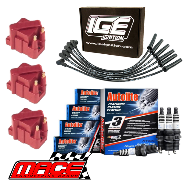 ICE 9MM PRO 100 SERIES IGNITION LEADS FOR HOLDEN CAPRICE WH WK WL LS1 5.7L V8