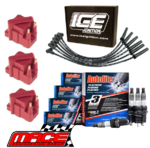 MACE HIGH VOLTAGE IGNITION SERVICE KIT TO SUIT HOLDEN COMMODORE VS.II L67 SUPERCHARGED 3.8L V6