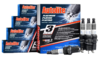 SET OF 4 AUTOLITE DOUBLE PLATINUM SPARK PLUGS TO SUIT NISSAN MICRA K12 CR14DE 1.4L I4