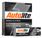 SET OF 4 AUTOLITE DOUBLE PLATINUM SPARK PLUGS TO SUIT NISSAN ALMERA N17 HR15DE 1.5L I4