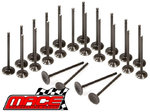 24 X MACE STANDARD INTAKE AND EXHAUST VALVE TO SUIT FORD BARRA 240T 245T 270T 325T TURBO 4.0L I6