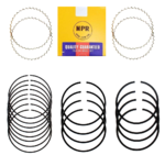 NIPPON CHROME PISTON RING SET TO SUIT MAZDA E1800 SR SS SK F8 1.8L I4