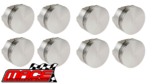 SET OF 8 MACE PISTONS TO SUIT FORD FALCON XW XY XA XB XC XD XE CLEVELAND 302 351 4.9L 5.8L V8