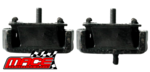 PAIR OF MACE FRONT ENGINE MOUNTS TO SUIT MAZDA B2600 BRAVO UF UN G6 MPFI SPFI SOHC 2.6L I4