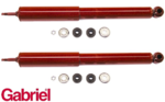 PAIR OF GABRIEL GUARDIAN REAR GAS SHOCK ABSORBERS TO SUIT TOYOTA CELICA SA63R RA65R COUPE