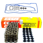 VALVE COVER GASKET KIT W/ SPRING & RETAINERS W/ COMPRESSOR TOOL FOR FORD BARRA 240T 245T 270T 4.0 I6